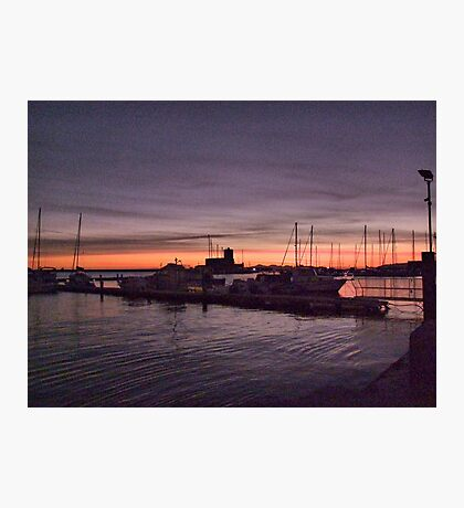 """Colombaia"" sunset Photographic Print"