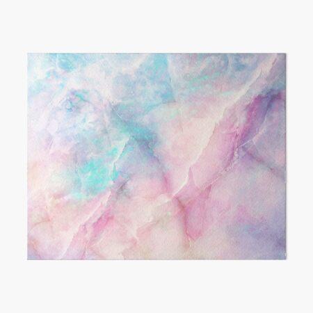 Iridescent Marble Art Board Print