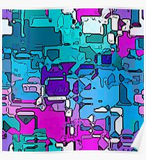 Abstract segmented 1 Poster