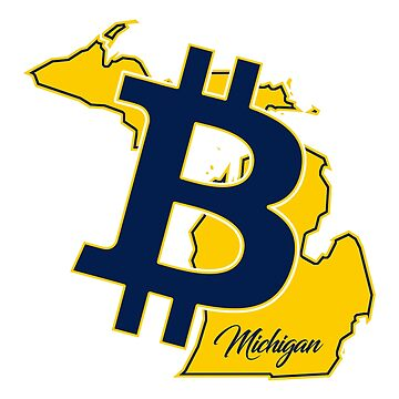 Bitcoin For Michigan by CryptoTextile