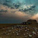 Stansbury Ruin at Twilight by pablosvista2