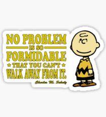 No Problem Sticker