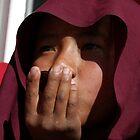 nepali monk. tso pema, north india by tim buckley   bodhiimages
