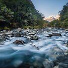 Hollyford River by Alex Stojan