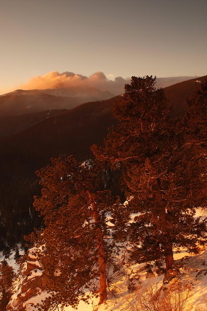 Longs Peak Shroud by Paul Crossland