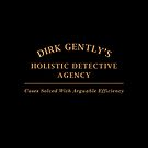 Dirk Gently Agency Sign by bubivisualarts