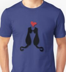 Cats in love Tee Unisex T-Shirt