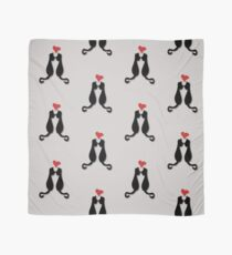 Cats in love Tee Scarf