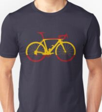 Bike Flag Spain (Big) Unisex T-Shirt