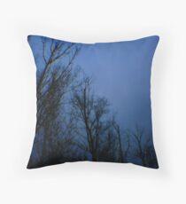 Blue Tuesday  Throw Pillow