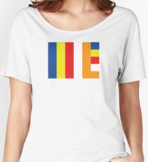 Buddhist Flag Women's Relaxed Fit T-Shirt