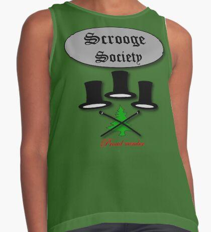 Bah Humbug Scrooge SocieTEE design Contrast Tank