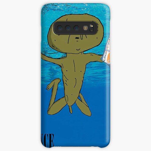 Clarence Nevermind Nirvana (PARODY) Samsung Galaxy Snap Case