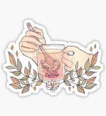 Pegatina La hora del té