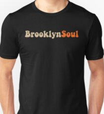 BROOKLYN SOUL*CREAM/ORANGE Unisex T-Shirt