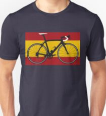 Bike Flag Spain (Big - Highlight) Unisex T-Shirt