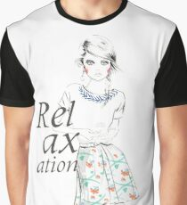 Relaxation Graphic T-Shirt