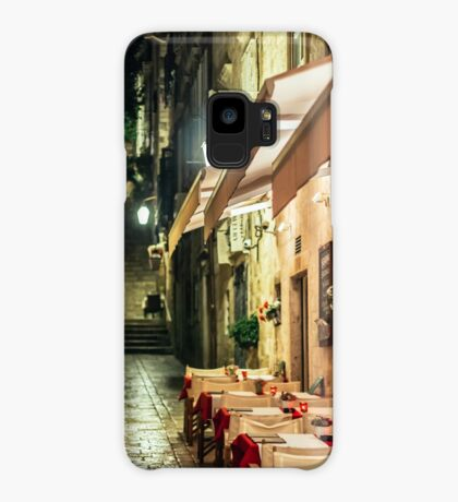 DUBROVNIK RESTAURANT ALLEY [Samsung Galaxy cases/skins] Case/Skin for Samsung Galaxy