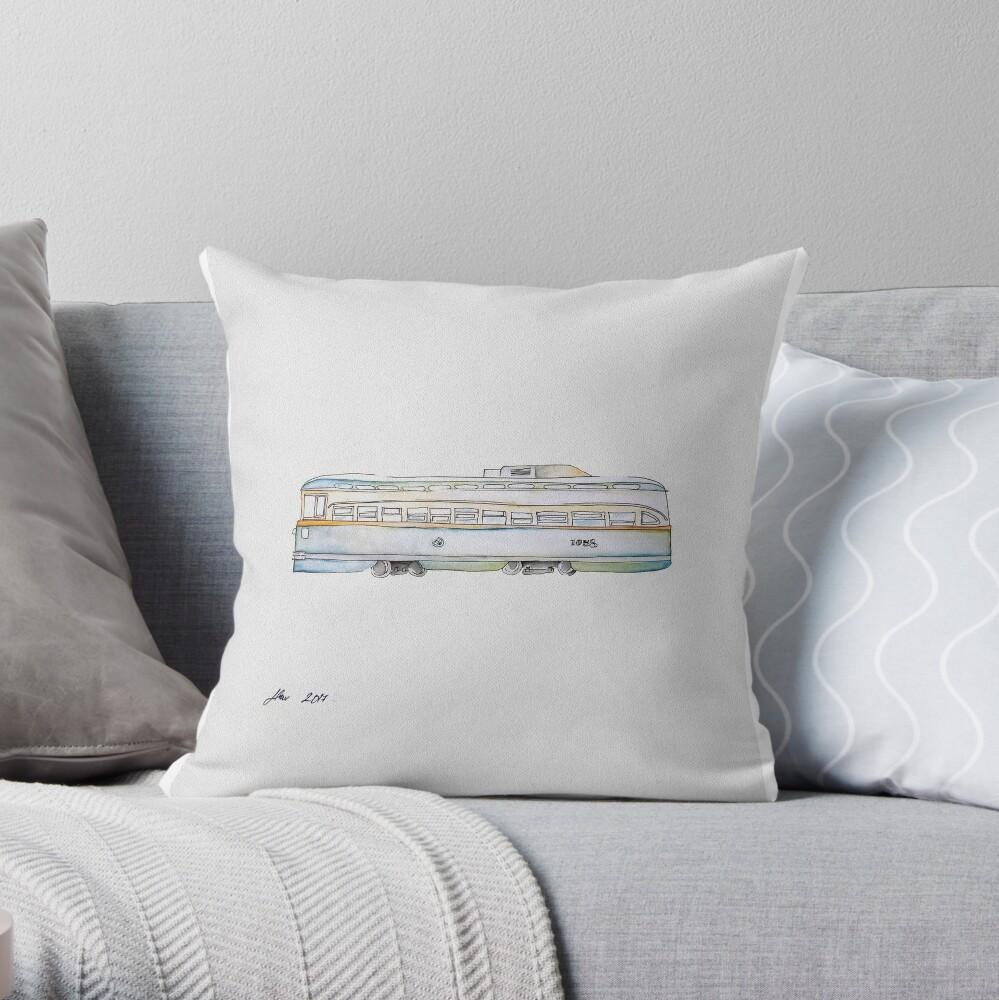 San Francisco | Trolly Car Throw Pillow