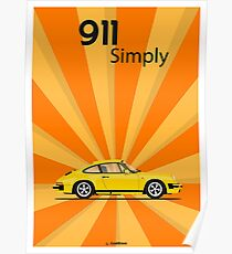 911 Simply Poster