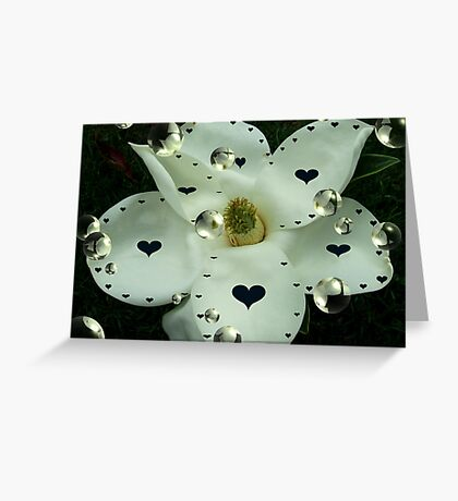 """""""Hearts & Bubbles"""" Greeting Card"""
