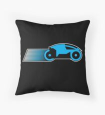 Simple Grid Cycle Throw Pillow