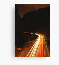 Highway 6 Canvas Print
