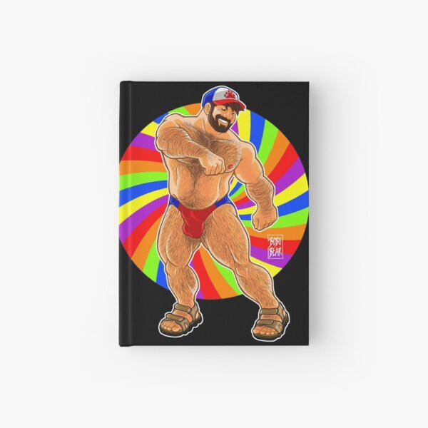 ADAM LIKES TO DANCE - GAY PRIDE Hardcover Journal