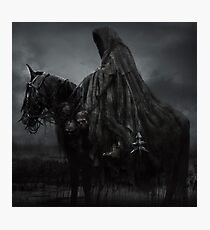 nazgul- Witch-king of Angmar Photographic Print