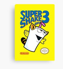 Super Shake Bros. 3 (Print Version) Canvas Print