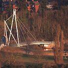 Millers Bridge Late Afternoon Sun by kernuak