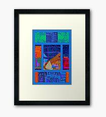 gas Framed Print