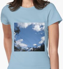 skyscape Women's Fitted T-Shirt