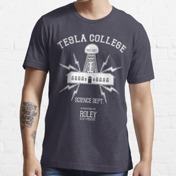 Tesla College Essential T-Shirt