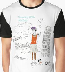 Italy Traveling Graphic T-Shirt