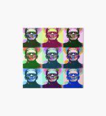 Frankenstein Pop Art Art Board