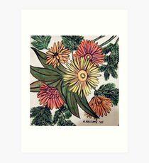 Florists Bunch Art Print