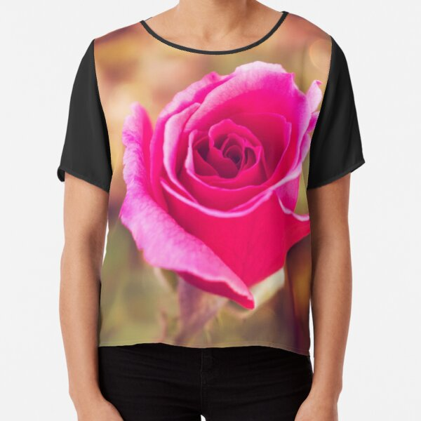 Afternoon Pink Surprise Chiffon Top
