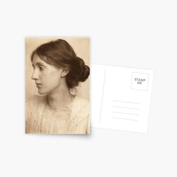 Virginia Woolf Vintage Photo Postcard