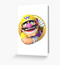 Wario Greeting Card