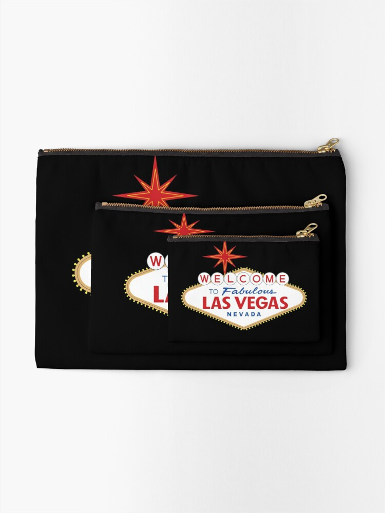 Alternate view of Welcome to Fabulous Las Vegas Sign Zipper Pouch
