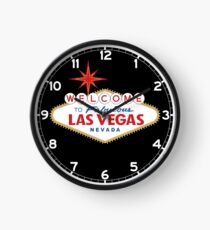 Welcome to Fabulous Las Vegas Sign Clock