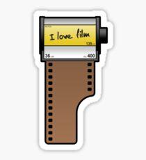 I love film Sticker