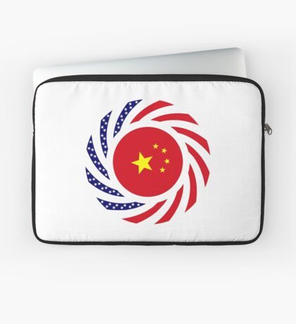 Chinese American Multinational Patriot Flag Series Laptop Sleeve