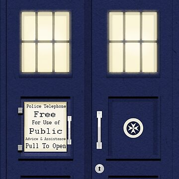 Tardis by PostMortemShop