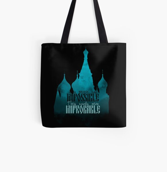 When People say Impossible | Shadow and Bone All Over Print Tote Bag