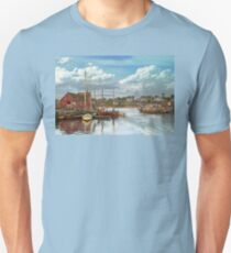 Boat - Rockport Mass - Motif Number One - 1906 T-Shirt