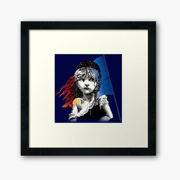 Les Mis Framed Art Print