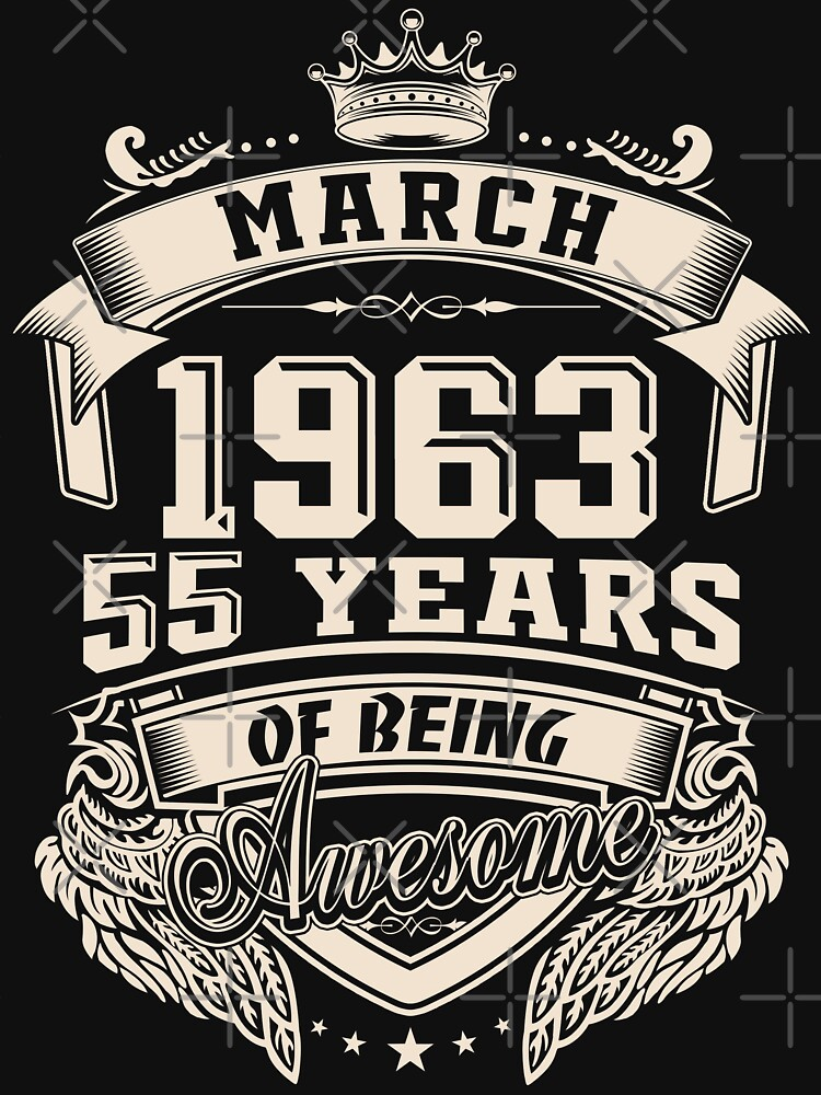 Born In March 1963