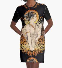 ARTEMIS Graphic T-Shirt Dress